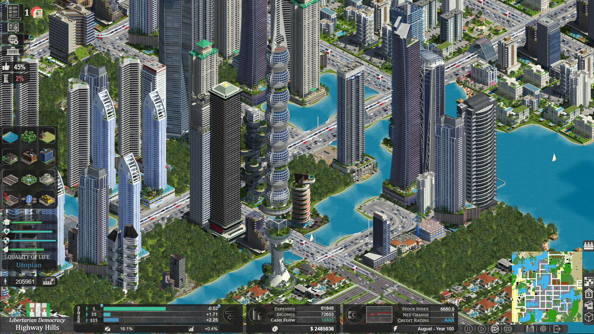 citystate new indie city building game an economic and political